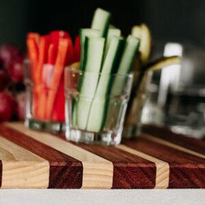 Tapasplank hout met hapjes